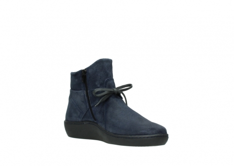 wolky bottines 08127 pharos 40801 blue suede_16