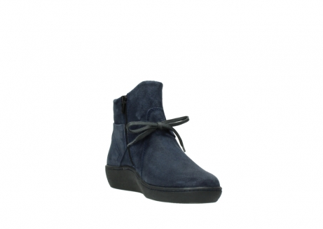 wolky bottines 08127 pharos 40801 blue suede_17