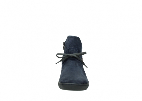 wolky bottines 08127 pharos 40801 blue suede_19