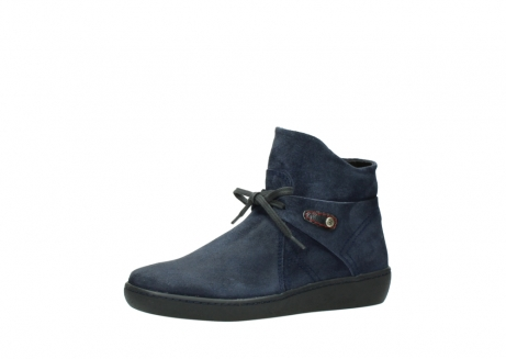 wolky bottines 08127 pharos 40801 blue suede_23