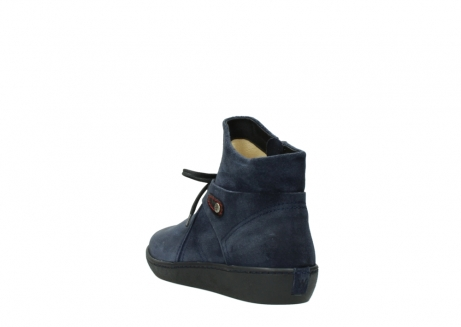wolky bottines 08127 pharos 40801 blue suede_5