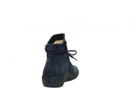 wolky bottines 08127 pharos 40801 blue suede_8