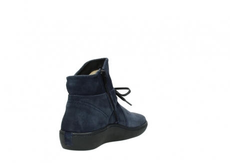 wolky bottines 08127 pharos 40801 blue suede_9