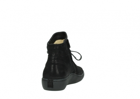 wolky ankle boots 08127 pharos 60001 black metallic leather_8