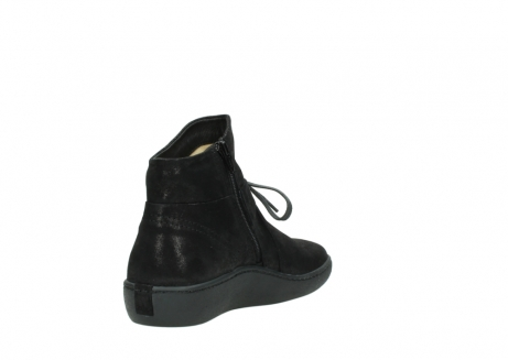 wolky ankle boots 08127 pharos 60001 black metallic leather_9