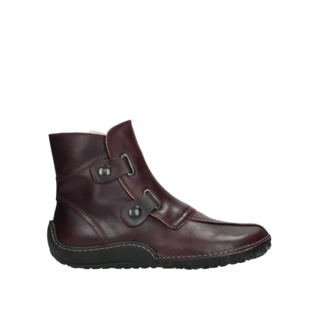 wolky ankle boots 08305 circle 50510 burgundy oiled leather