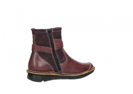 wolky ankle boots 08392 wales 50510 burgundy oiled leather_11