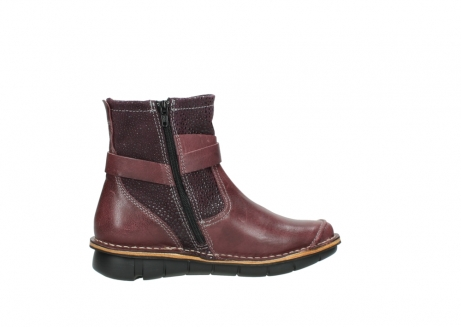 wolky ankle boots 08392 wales 50510 burgundy oiled leather_12