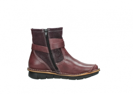 wolky ankle boots 08392 wales 50510 burgundy oiled leather_13