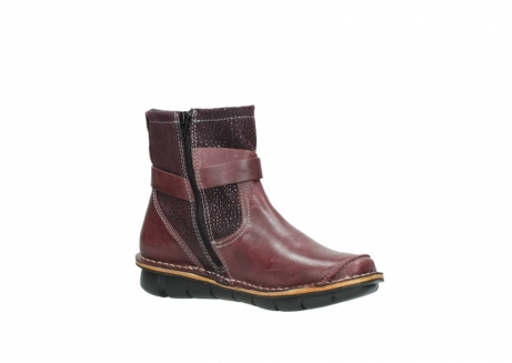 wolky ankle boots 08392 wales 50510 burgundy oiled leather_15