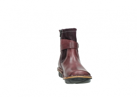 wolky ankle boots 08392 wales 50510 burgundy oiled leather_18