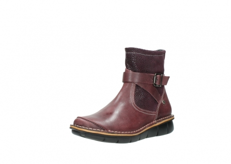 wolky ankle boots 08392 wales 50510 burgundy oiled leather_22
