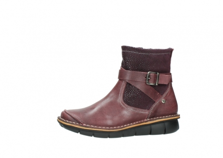wolky ankle boots 08392 wales 50510 burgundy oiled leather_24