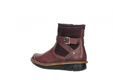 wolky ankle boots 08392 wales 50510 burgundy oiled leather_3