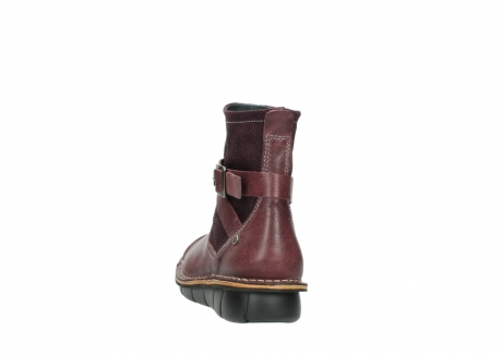 wolky ankle boots 08392 wales 50510 burgundy oiled leather_6