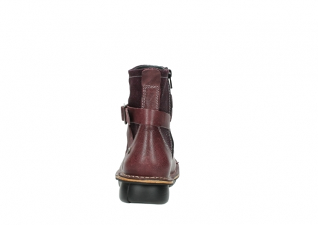 wolky ankle boots 08392 wales 50510 burgundy oiled leather_7