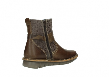 wolky ankle boots 08394 kazan 59153 taupe drops leather_10