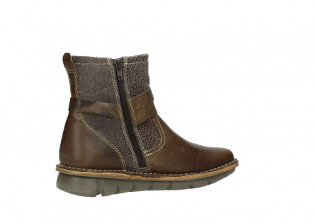 wolky ankle boots 08394 kazan 59153 taupe drops leather_11