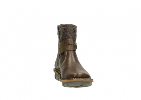 wolky ankle boots 08394 kazan 59153 taupe drops leather_18