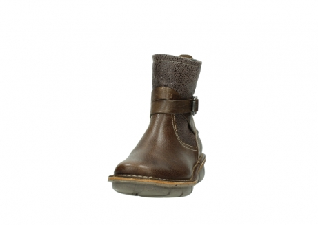 wolky ankle boots 08394 kazan 59153 taupe drops leather_20
