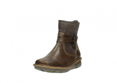 wolky ankle boots 08394 kazan 59153 taupe drops leather_21