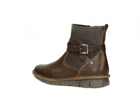 wolky ankle boots 08394 kazan 59153 taupe drops leather_3