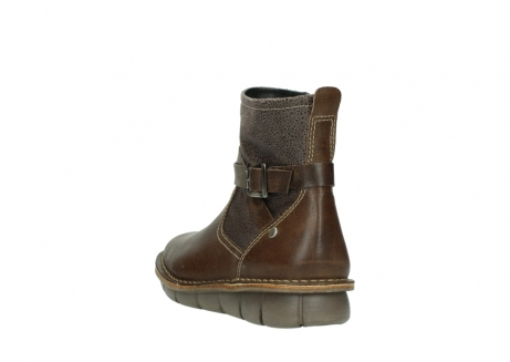 wolky ankle boots 08394 kazan 59153 taupe drops leather_5