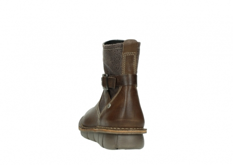 wolky ankle boots 08394 kazan 59153 taupe drops leather_6