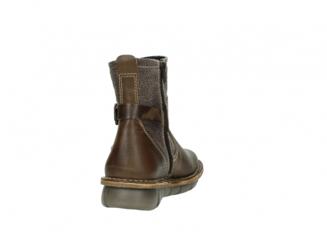 wolky ankle boots 08394 kazan 59153 taupe drops leather_8