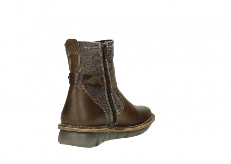 wolky ankle boots 08394 kazan 59153 taupe drops leather_9