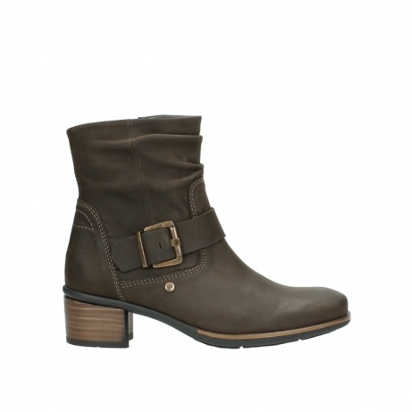wolky stiefeletten 0930 coyote 515 taupe geoltes leder