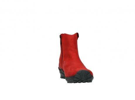 wolky enkellaarsjes 1731 zion 550 rood geolied leer_18