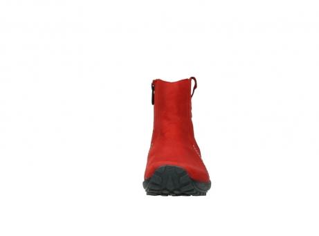 wolky enkellaarsjes 1731 zion 550 rood geolied leer_19