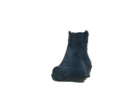 wolky stiefeletten 1735 zion wp 580 dunkelblau geoltes leder water proof warmfutter_20