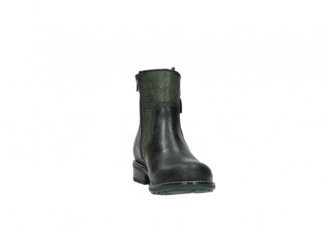wolky enkellaarsjes 4439 emerald 573 forest groen geolied leer_18