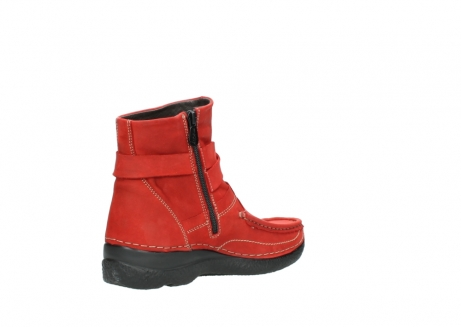 wolky stiefeletten 6293 roll point 550 rot geoltes leder_10