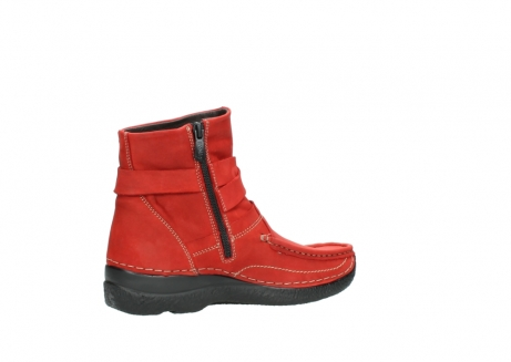 wolky stiefeletten 6293 roll point 550 rot geoltes leder_11