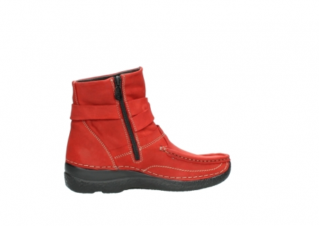 wolky stiefeletten 6293 roll point 550 rot geoltes leder_12