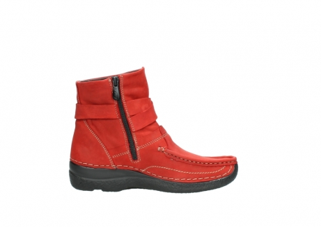 wolky stiefeletten 6293 roll point 550 rot geoltes leder_13