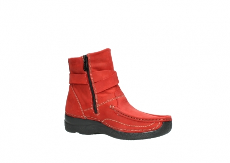wolky stiefeletten 6293 roll point 550 rot geoltes leder_15
