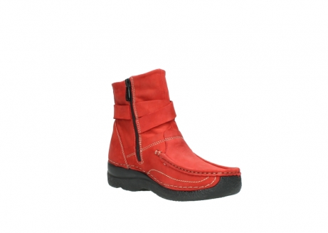 wolky stiefeletten 6293 roll point 550 rot geoltes leder_16