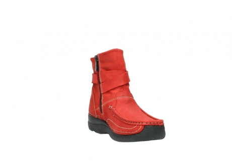 wolky stiefeletten 6293 roll point 550 rot geoltes leder_17