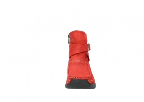 wolky stiefeletten 6293 roll point 550 rot geoltes leder_19