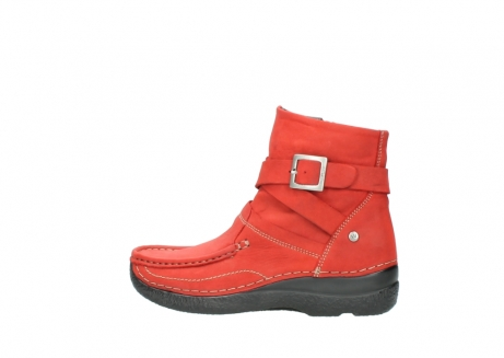 wolky stiefeletten 6293 roll point 550 rot geoltes leder_2