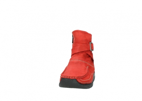 wolky stiefeletten 6293 roll point 550 rot geoltes leder_20