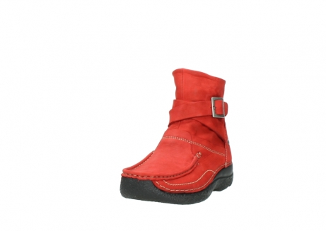 wolky stiefeletten 6293 roll point 550 rot geoltes leder_21