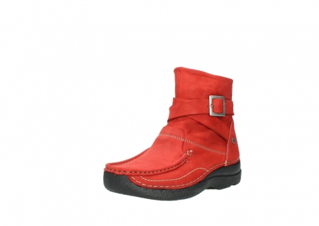 wolky stiefeletten 6293 roll point 550 rot geoltes leder_22