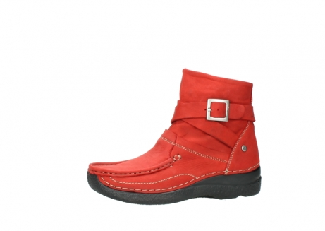 wolky stiefeletten 6293 roll point 550 rot geoltes leder_24