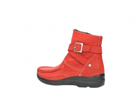 wolky stiefeletten 6293 roll point 550 rot geoltes leder_3