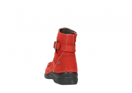 wolky stiefeletten 6293 roll point 550 rot geoltes leder_6
